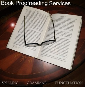 Book Proofreader