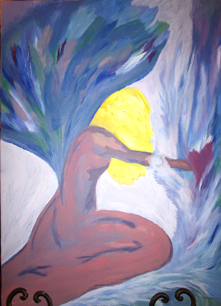 One of my paintings: Forgive
