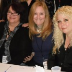 Rachel Caine, VMK Fewings & Kimberly Adkins at the Undead Con in New Orleans