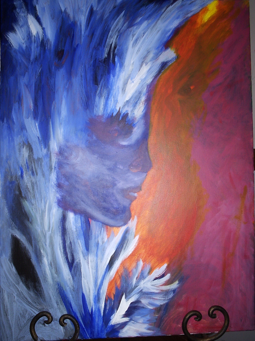 One of my paintings: Wintersmith