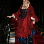 Kimberly at Witches Ball in New Orleans - The  Van Benthuysen – Elms Mansion & Gardens